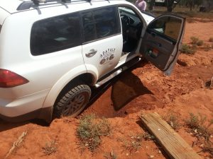 car stuck Australia