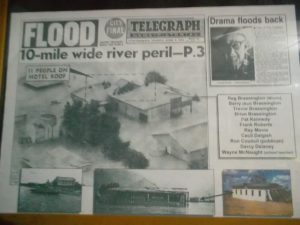 newspaper adavale flood 1963