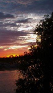 sunset bivouac Australia
