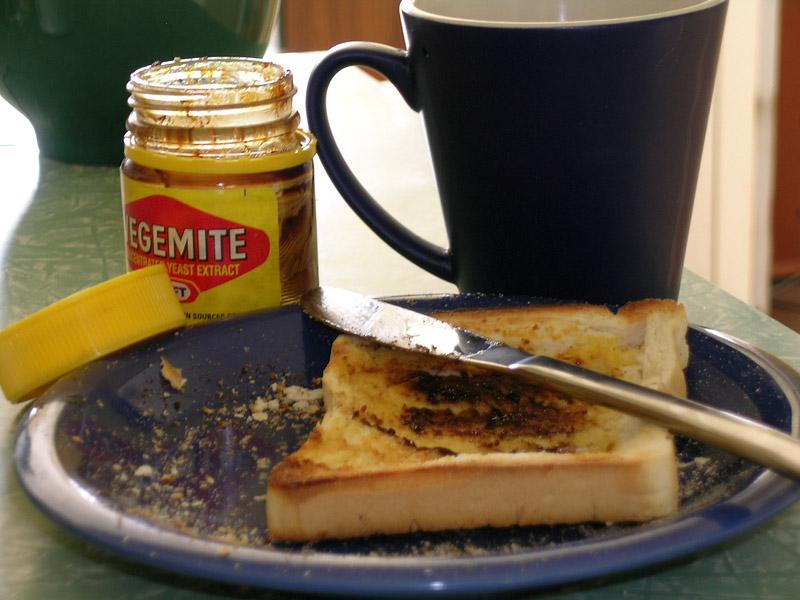 vegemite australien bucket list