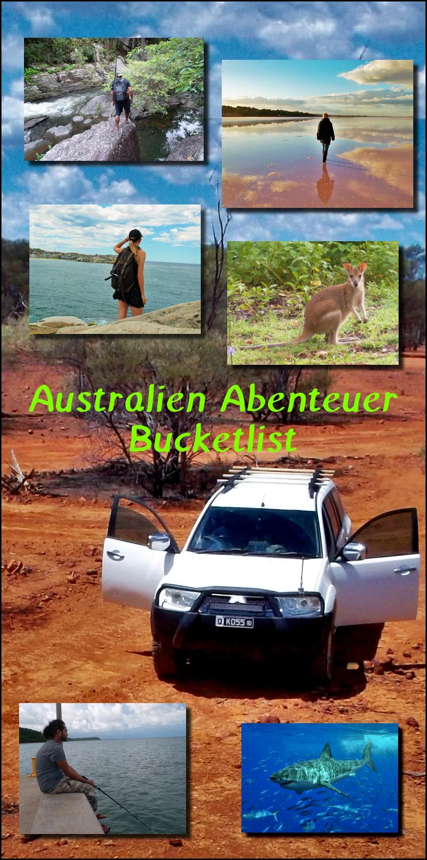 autralien bucket list pin
