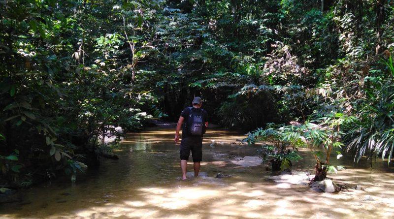 cover pisang falls hike